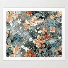 Fading Colors Art Print