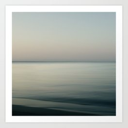 Tranquility by the sea Art Print