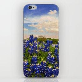 Bluebonnet Texas iPhone Skin