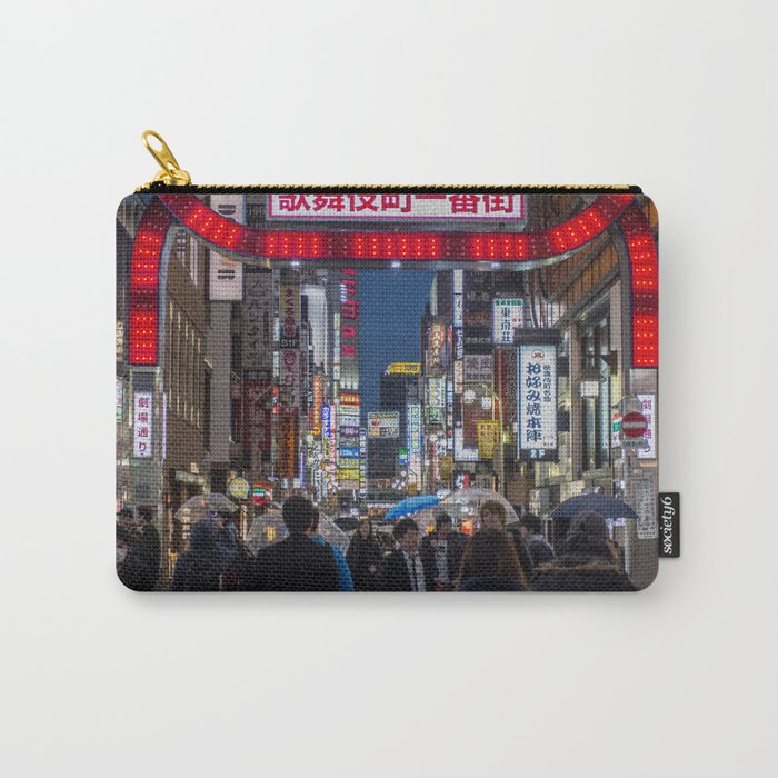 Tokyo Streets Carry-All Pouch