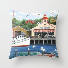 Pelican Bay Throw Pillow