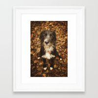 ruby Framed Art Prints featuring Ruby by Alex Malyon