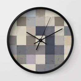 Abstract Geometry No. 18 Wall Clock