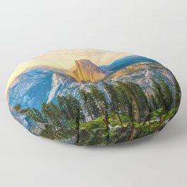 Heaven and Earth, Yosemite Floor Pillow