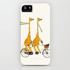 lets tandem giraffes Slim Case iPhone SE