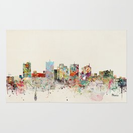 phoenix arizona skyline Rug