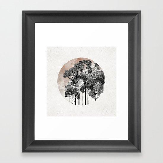 Crux Framed Art Print