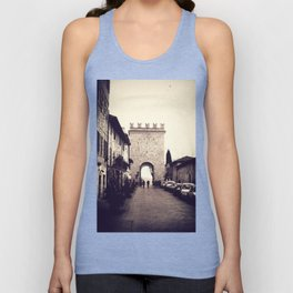 Medieval Gate of Assisi Unisex Tank Top