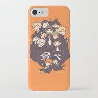 haikyuu iPhone & iPod Cases featuring Haikyuu!! Karasuno Team by Kim Quim
