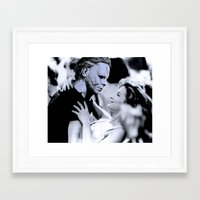 dirty dancing Framed Art Prints featuring MICHAEL MYERS IN DIRTY DANCING by Luigi Tarini