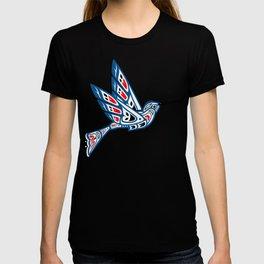 Hummingbird Pacific Northwest Native American Indian Style Art T-shirt
