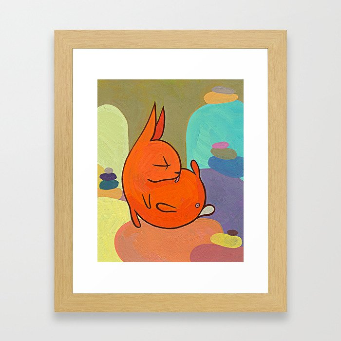 Buns Framed Art Print