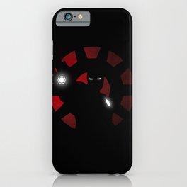 SuperHeroes Shadows : Iron Man iPhone Case