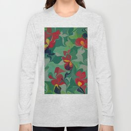 Flowers in the Wind 6 Long Sleeve T-shirt