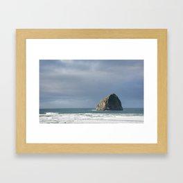 Cape Kiwanda Framed Art Print
