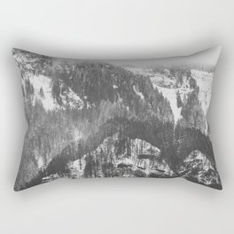 Frosty Forest - Adventure Awaits Rectangular Pillow