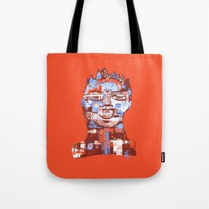 Red King Tote Bag