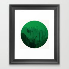 Leaving for heaven/下一站天国 Framed Art Print