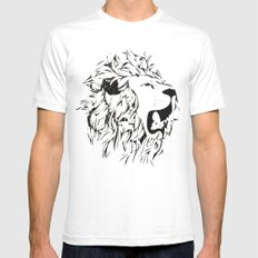 Leo Mens Fitted Tee SMALL White