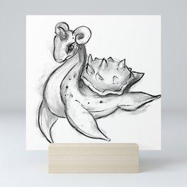 Lapras Mini Art Print
