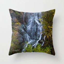 Bridal Veil Falls Two Throw Pillow