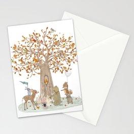 the little oak tree Stationery Cards
