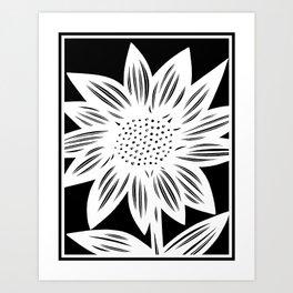 black and white, art print, art print, Drawing, Flowers, Botanical, Artwork, Home decor, Print, Bota Art Print