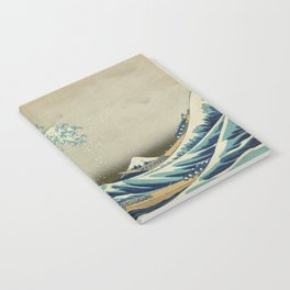 Vintage poster - The Great Wave Off Kanagawa Notebook