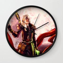 Dragon Age Inquisition - Aspen the elvish mage Wall Clock