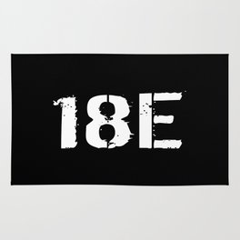 18E Special Forces Communications Rug