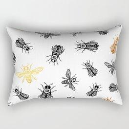 OCCULT BEES Rectangular Pillow