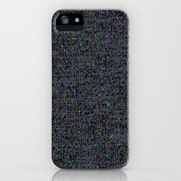neon_snow iPhone Case