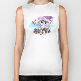 utopia apocalyptic obsessions Biker Tank