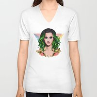 prism V-neck T-shirts featuring Prism by Will Costa