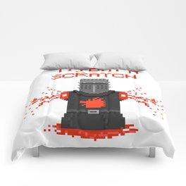 Monty Phyton black knight Comforters