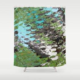Moss Pond Shower Curtain