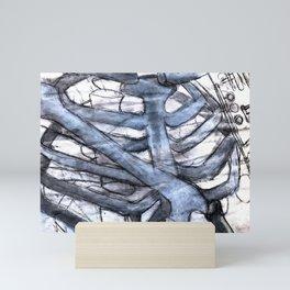 Rib Cage Mini Art Print