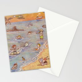 Children of summer Stationery Cards