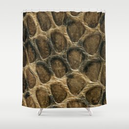 The skin of the serpent Shower Curtain
