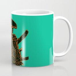 Tri Color Alien Coffee Mug