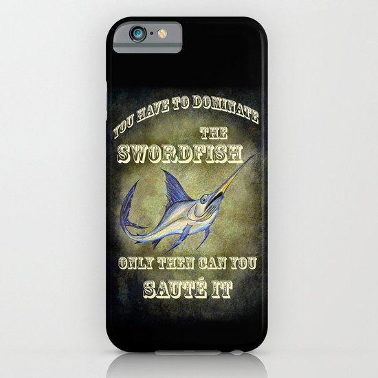 Swordfish sauté iPhone & iPod Case