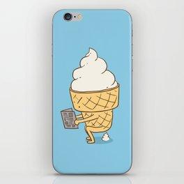 Everyone Poops (Blue) iPhone Skin