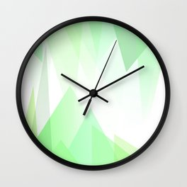 ordered organic tri optic cave ll Wall Clock