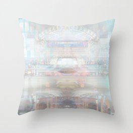 Sci Fi Adventure Throw Pillow