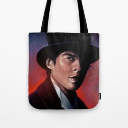 Damon in a Tophat Tote Bag