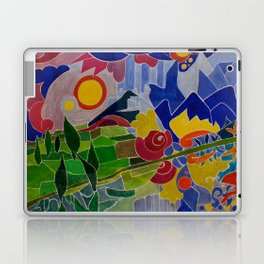 I Monti Sibillini (The Sibillini Hills) Laptop & iPad Skin