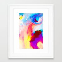 bat Framed Art Prints featuring Bat by Kimsey Price