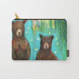 Twin Cubs at Dawn Carry-All Pouch