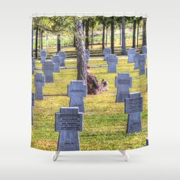 The Futility Of War Shower Curtain