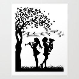 Hibike! Euphonium- A Duet Art Print